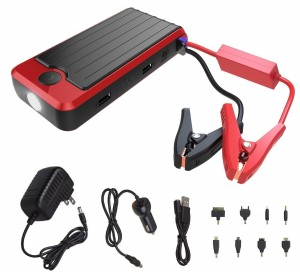 PowerAll PBJS12000R Rosso Portable Car Jump Starter and Power Bank